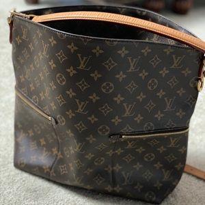 Louis Vuitton Meile Hobo Crossbody Handbag